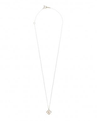 ホワイト k10YG エチオピアオパール ネックレスを見る
