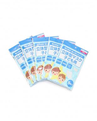 ホワイト 不織布3層マスク子ども用5枚入り×10袋50枚組を見る