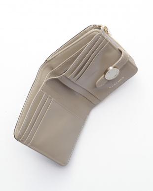 ブラック ブラン Lファスナー2つ折り財布を見る