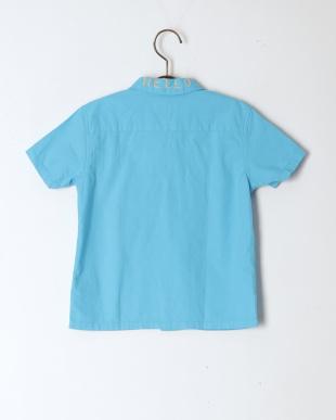 44BL淡青 シーチング FOLKS シャツを見る
