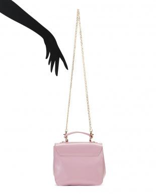 ピンク Candy チェーンショルダー付 2WAYバッグを見る
