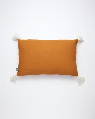 刺繍レクタングルクッション(中綿付) オレンジを見る