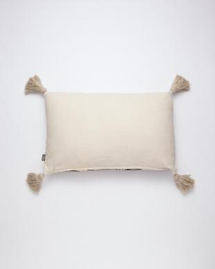 刺繍レクタングルクッション(中綿付) ホワイトを見る