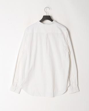 シロ メンアサストレッチバンドカラーシャツを見る