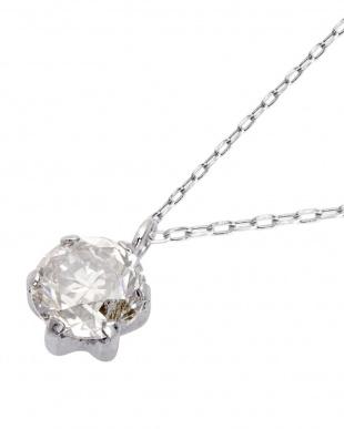 PT 天然ダイヤモンド 0.4ct 6本爪 プラチナネックレス [カード鑑別書付/5cmAJサービス]を見る