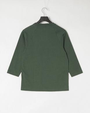 モスグリーン ラグランスリーブ Tシャツを見る