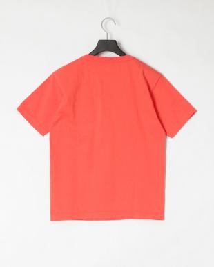 オレンジ 半袖 ポケット付 Tシャツを見る