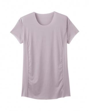 バローニュグレー クルーネックTシャツ(脇パッド付)×3SETを見る