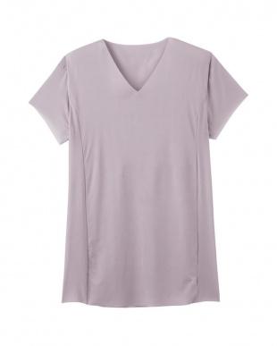 バローニュグレー VネックTシャツ(脇パッド付)×3SETを見る
