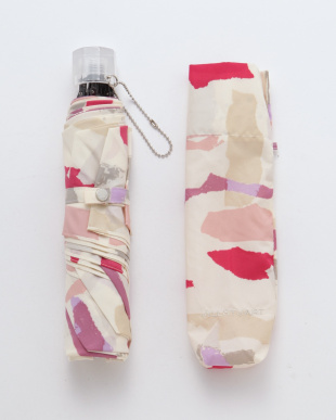 ピンク ジルスチュアート折りたたみ傘を見る
