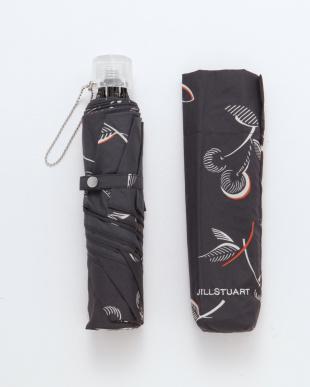 ブラック ジルスチュアート折りたたみ傘を見る