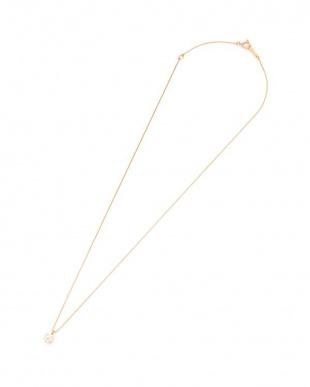 ピンクゴールド K18PG ダイヤモンド 0.3ct K/SI2/VG 6本爪 ネックレス [K18PG ベネチアン40cm] GGS鑑定書付を見る