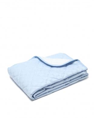 ブルー 西川 ひんやりコットン 綿's Cool敷パッド セミダブル 洗える 消臭を見る