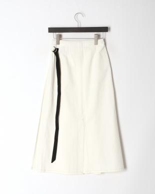 ホワイト SAFINIA[br]ボックスプリーツ スカートを見る