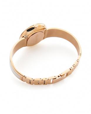 ホワイト/ホワイト/ピンクゴールド 腕時計 Seduce(セデュース) 2針 シルバー×ピンクゴールドを見る