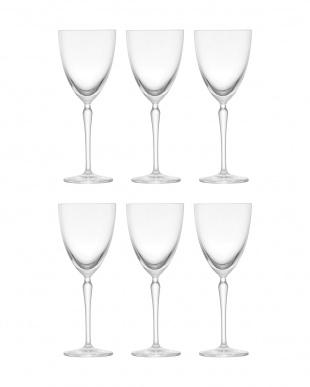 AUDREY 白ワイングラス 6点セットを見る