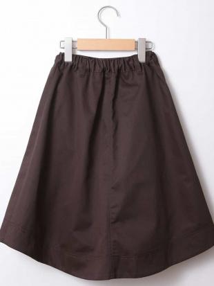 ホワイト [100-130]トレンチスカート[WEB限定サイズ] a.v.v bout de chouを見る