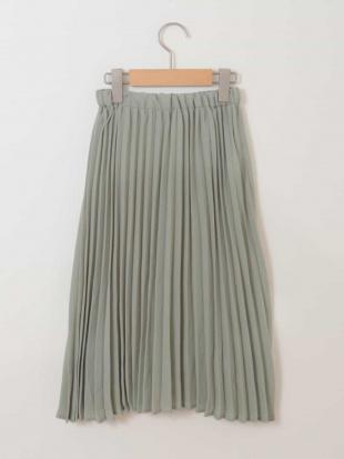 アイボリー [100-130]プリーツスカート[WEB限定サイズ] a.v.v bout de chouを見る