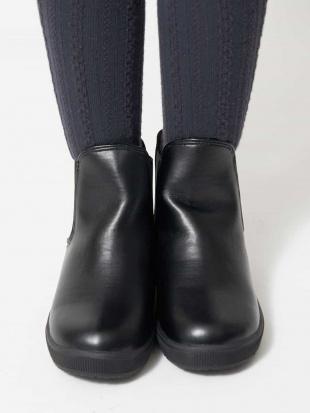 ブラック [KIDS]サイドゴアスニーカーブーツ[WEB限定サイズ] a.v.v bout de chouを見る