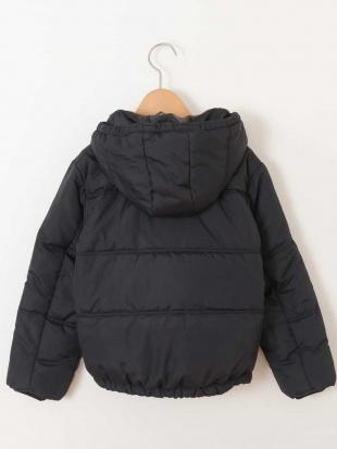 ブラック 【洗える】[100-130]ショートナカワタパフジャケット[WEB限定サイズ] a.v.v bout de chouを見る