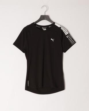 PUMA BLACK-Q3/PUMA WHITE トレーニング ロゴ ラグラン Tシャツ/トレーニング ロゴ ラグラン Tシャツを見る