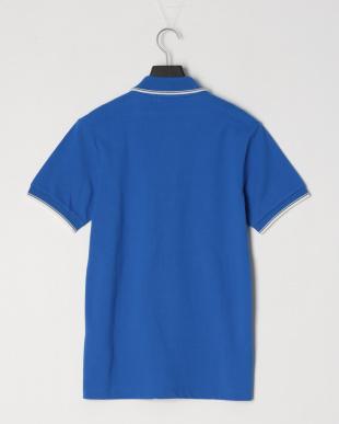 ブルー ○ 鹿の子編み半袖ポロシャツ○48355を見る