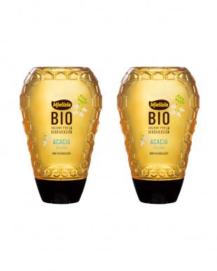 イタリア産アカシアの有機ハチミツ(スクイーザーボトル) 2個セットを見る
