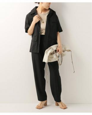 ブラック [KALLMEYER] Modified Tiffary trouserを見る
