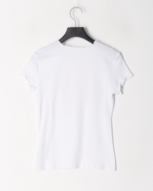 ホワイト GUESS LOGO MERROW EDGE R5 TEEを見る
