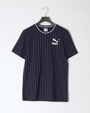 PUMA BLACK/PEACOAT FAVORITE イグナイト ブロックショーツ 7インチ/PINSTRIPE AOP Tシャツ SETを見る