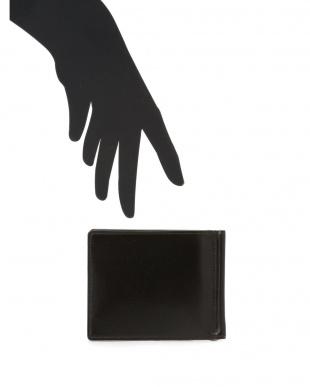 チョコ クリスペルカーフ レザー マネークリップ付カードケースを見る