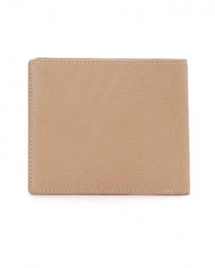 ベージュ ロディ レザー 二つ折り 財布を見る
