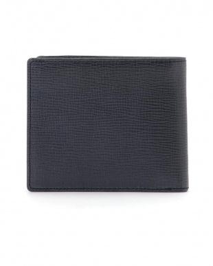 ネイビー ロディ レザー 二つ折り 財布を見る