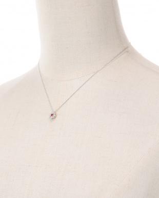 PT ルビー&ダイヤ ネックレスを見る