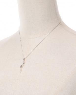 K18WG ダイヤ ネックレスを見る