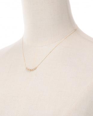 K18YG ルビー&ダイヤ ネックレスを見る