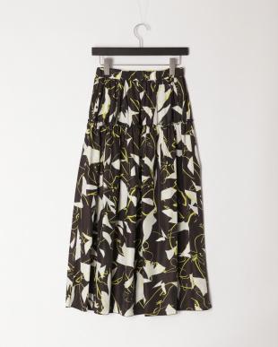 クロ 《Maison de Beige》アートプリントスカート《Viscotecs》を見る