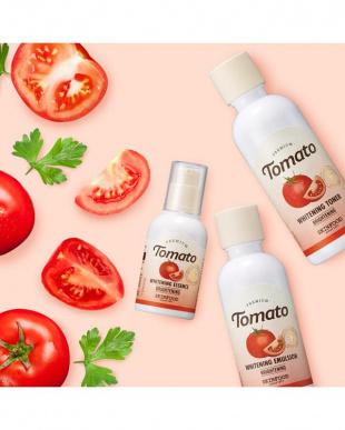 プレミアム トマト ブライトニングスキンケアセット(トナー、エマルジョン、エッセンス)を見る