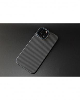 ブラック カーボンファイバーケース HOVERKOAT Stealth Black iPhone12/12Proを見る