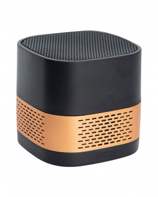 ブラック×ゴールド 持ち運べるのにハイスペックな空気清浄機 Luft Cube ブラックゴールドを見る