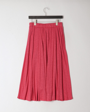 ピンクケイ リネンジャージーフレアースカートを見る