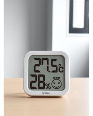 ホワイト デジタル温湿度計 ホワイト3個セットを見る