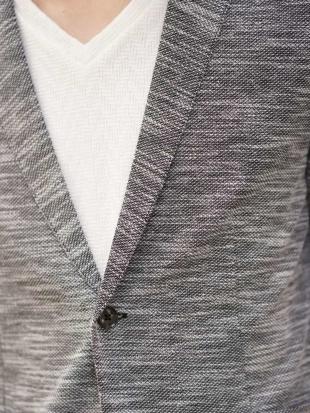 グレー カットジャケット(リネンミックス) MK MICHEL KLEIN hommeを見る