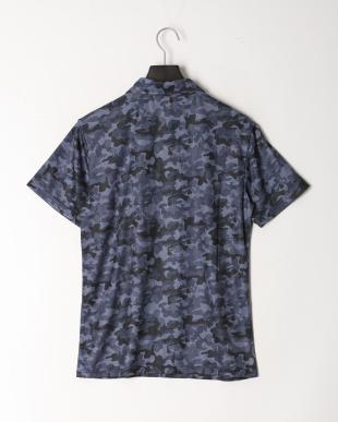 ネイビーカモ UVメッシュポロシャツを見る
