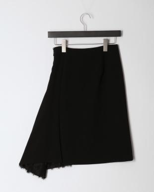 ブラック リバーレースコンビ スカートを見る