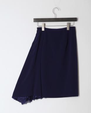ブルー リバーレースコンビ スカートを見る