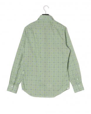 ヴェルデメディオ デザイン柄 長袖シャツを見る