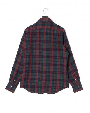 ロッソ/グリーン チェック 長袖シャツを見る