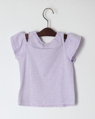 ラベンダ- 海中肩あきTシャツを見る