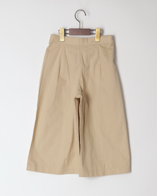 ベ-ジュ GOLD BOTTON WIDE PANTを見る